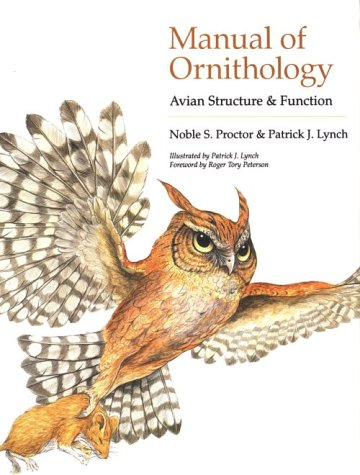 Manual of Ornithology Avian Structure and Function  1998 edition cover