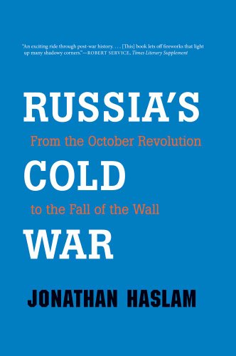Russia's Cold War From the October Revolution to the Fall of the Wall  2012 edition cover