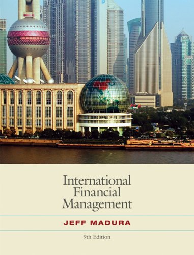 International Financial Management  9th 2008 edition cover