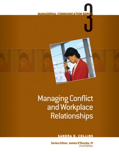 Managing Conflict and Workplace Relationships  2nd 2009 edition cover