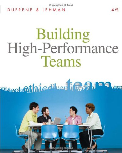 Building High-Performance Teams  16th 2011 edition cover
