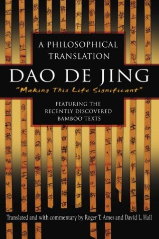 Dao de Jing A Philosophical Translation N/A edition cover
