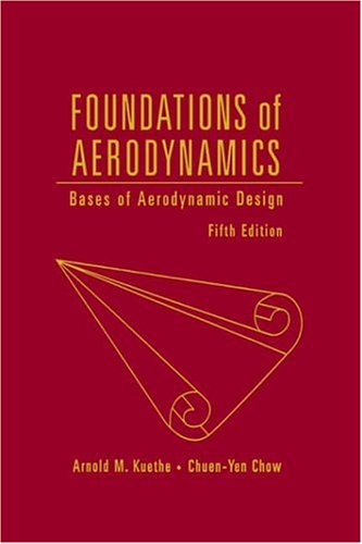 Foundations of Aerodynamics Bases of Aerodynamic Design 5th 1998 (Revised) edition cover