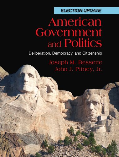 American Government and Politics Deliberation, Democracy and Citizenship, Election Update  2012 edition cover