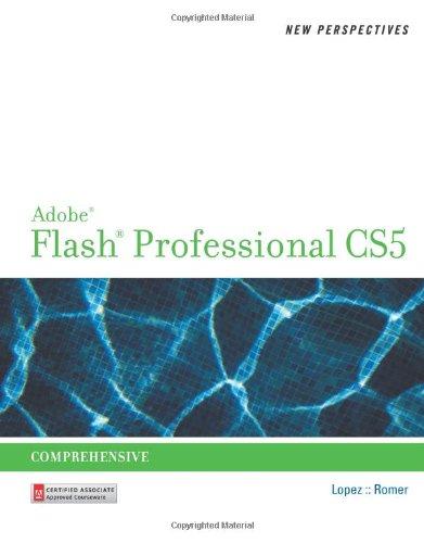 Adobe Flash Professional CS5 Comprehensive  2011 edition cover