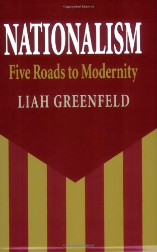 Nationalism Five Roads to Modernity  1992 edition cover