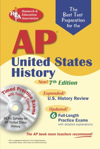AP United States History  7th 2006 (Revised) 9780738602196 Front Cover