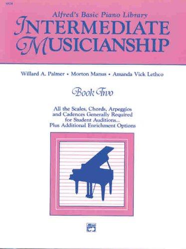 Musicianship Book Intermediate Musicianship  1988 edition cover