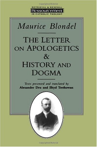 Letter on Apologetics and History of Dogma N/A edition cover