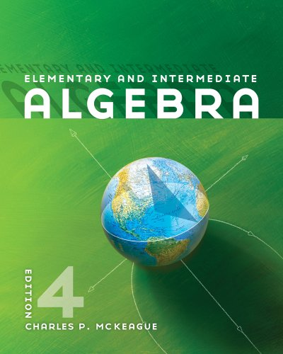 Elementary and Intermediate Algebra  4th 2012 edition cover
