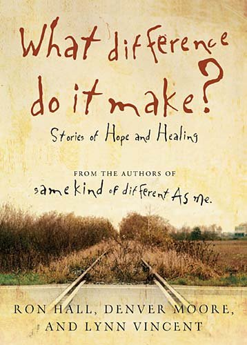 What Difference Do It Make? Stories of Hope and Healing  2010 edition cover