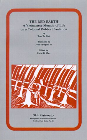 Red Earth A Vietnamese Memoir of Life on a Colonial Rubber Plantation  1985 edition cover