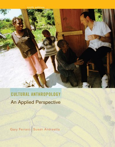 Cultural Anthropology An Applied Perspective 9th 2012 edition cover