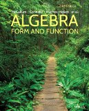 Algebra Form and Function 2nd 2015 9781118449196 Front Cover