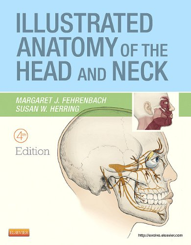 Illustrated Anatomy of the Head and Neck  4th 2012 edition cover