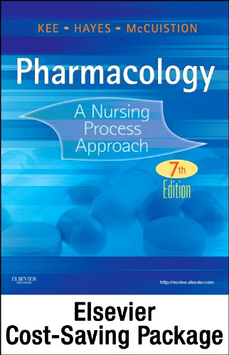 Pharmacology - Text and Study Guide - Revised Reprint Package A Nursing Process Approach 7th edition cover