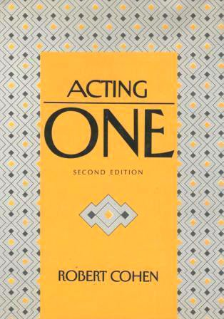 Acting One 2nd edition cover