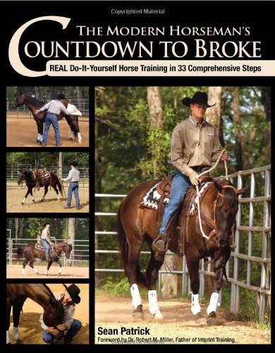Modern Horseman's Countdown to Broke Real Do-It-Yourself Horse Training in 33 Comprehensive Steps  2009 edition cover