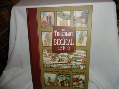 Timechart of Biblical History:  2002 edition cover