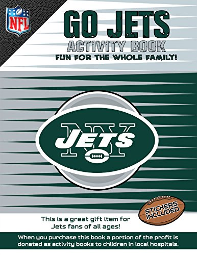 Go Jets Activity Book   2014 9781941788196 Front Cover