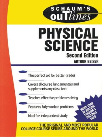 Schaum's Outline of Physical Science  2nd 1988 (Revised) edition cover