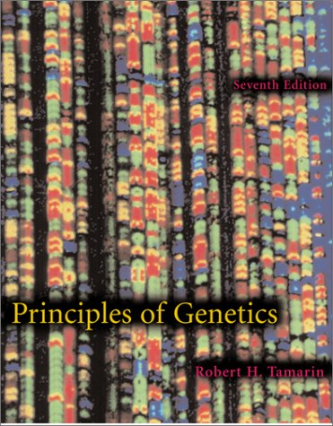 Principles of Genetics 7th 2002 9780072334197 Front Cover