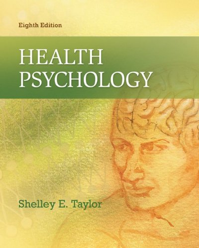 Health Psychology  8th 2012 edition cover