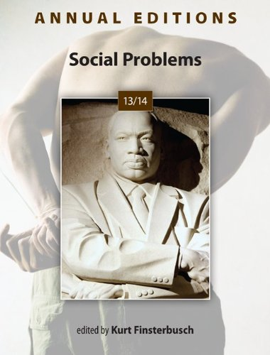 Annual Editions: Social Problems 13/14  39th 2014 edition cover