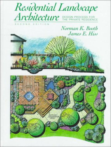 Residential Landscape Architecture Design Process for the Private Residence 2nd 1999 edition cover