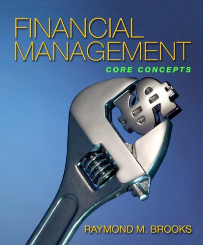 Financial Management Core Concepts  2010 9780137039197 Front Cover