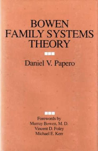 Bowen Family Systems Theory  1st 1990 edition cover