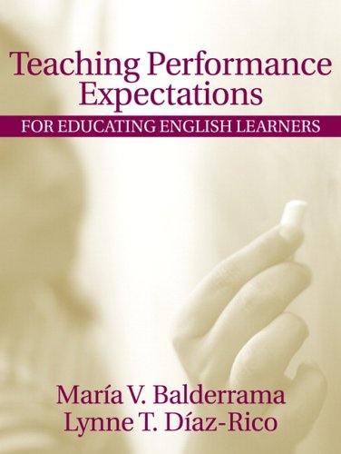 Teaching Performance Expectations For Educating English Learners  2006 edition cover