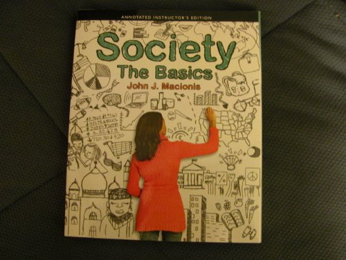 SOCIETY:BASICS >ANNOT.INSTRS<  N/A edition cover