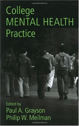 College Mental Health Practice   2007 9780415951197 Front Cover