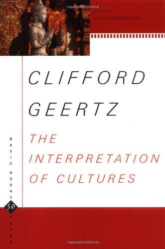 Interpretation of Cultures   2001 edition cover