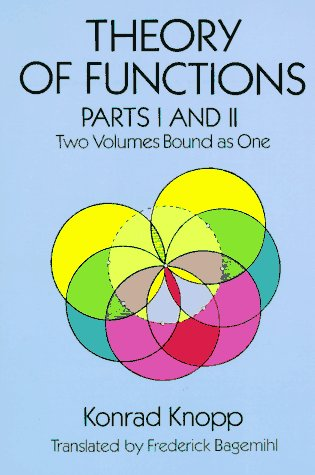 Theory of Functions   1996 (Unabridged) edition cover