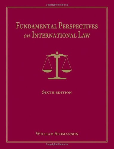 Fundamental Perspectives on International Law  6th 2011 edition cover