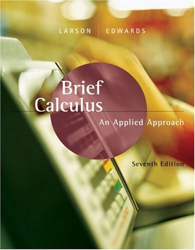 Brief Calculus An Applied Approach 7th 2006 edition cover
