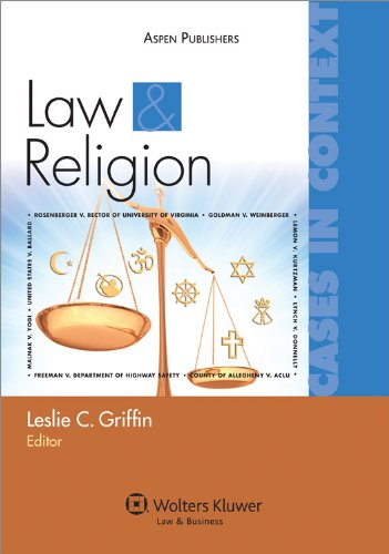 Law and Religion Cases and Context  2010 edition cover