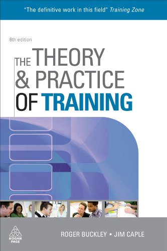 Theory and Practice of Training  6th 2009 9780749454197 Front Cover
