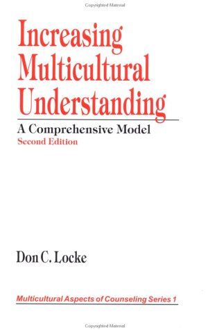 Increasing Multicultural Understanding A Comprehensive Model 2nd 1998 edition cover