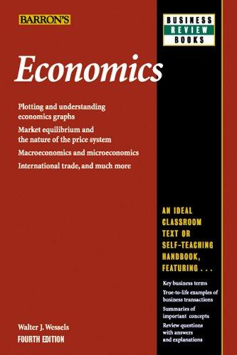 Economics  4th 2006 edition cover