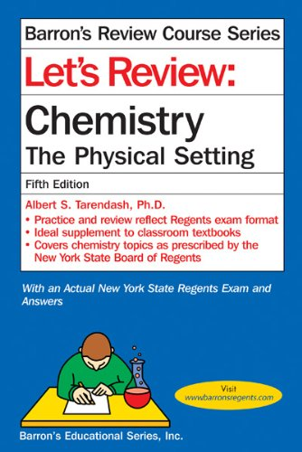Let's Review Chemistry The Physical Setting 5th 2012 (Revised) edition cover