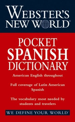 Webster's New World Pocket Spanish Dictionary   2004 edition cover