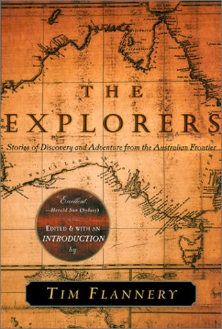 Explorers Stories of Discovery and Adventure from the Australian Frontier  2000 edition cover