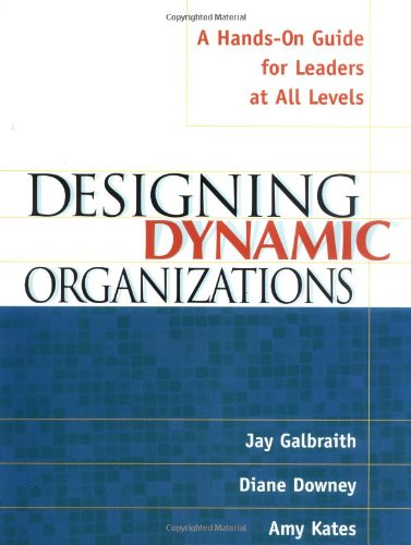 Designing Dynamic Organizations A Hands-On Guide for Leaders at All Levels  2001 edition cover