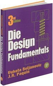 Die Design Fundamentals  3rd 2005 edition cover