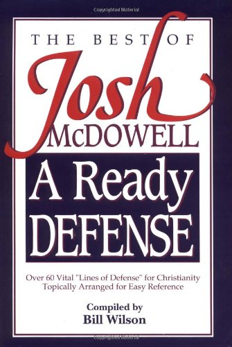 Ready Defense The Best of Josh McDowell  1992 (Reprint) edition cover