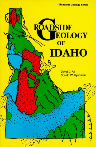 Roadside Geology of Idaho Revised edition cover