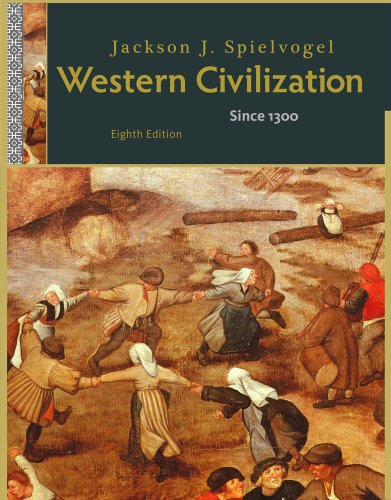 Western Civilization Since 1300 8th 2012 (Alternate) 9781111342197 Front Cover
